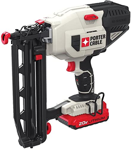 PORTER-CABLE 20V MAX Finish Nailer, Straight, 16GA PCC792LA