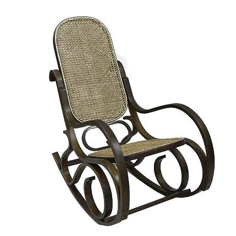 Lovely Home X Classic Bentwood Rocker. Bentwood Rocking Chair. (Dark Walnut)