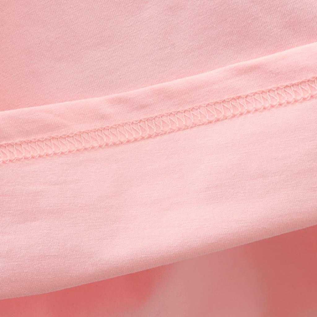 4 A/ños Modaworld Ropa Bebe Ni/ña Verano Trajes para ni/ños ni/ñas Camiseta Estampada de Dibujos Animados para beb/é ni/ña Tops Pantalones Cortos Conjunto de Ropa 3 Mes