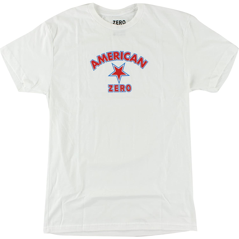 Zero American T-Shirt – Größe: Medium Weiß