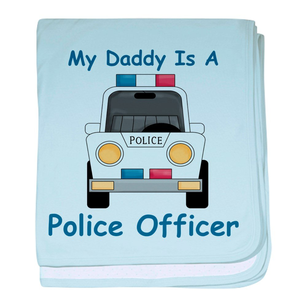 CafePress - Daddy Is A Police Officer - Baby Blanket, Super Soft Newborn Swaddle