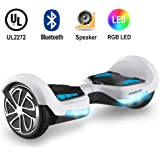 TOMOLOO Hover Board with App and Bluetooth Lights