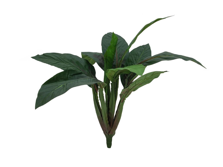 Bietola ornamentale con 16 foglie, con gambo, 45 cm - Verdura artificiale / Verdura decorativa - artplants