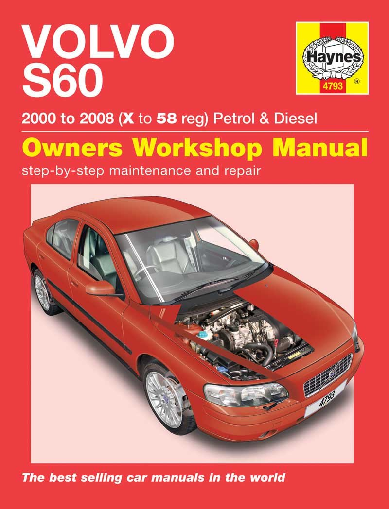 Volvo S60 Petrol and Diesel Service and Repair Manual: 2000 to 2008 (Haynes  Service and Repair Manuals): Martynn Randall: 9781844257935: Amazon.com:  Books