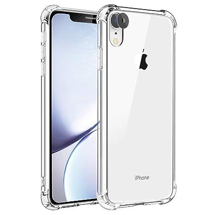 Amazon.com: XR Funda para iPhone XR, funda transparente ...
