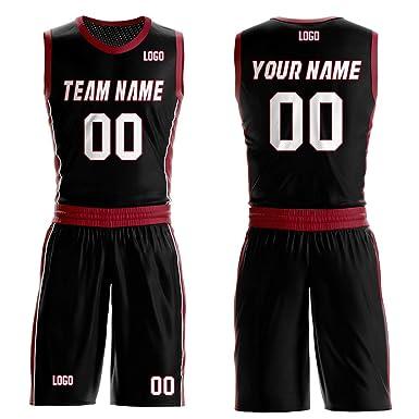 Camisetas de Baloncesto de Malla Personalizadas, Cuello ...