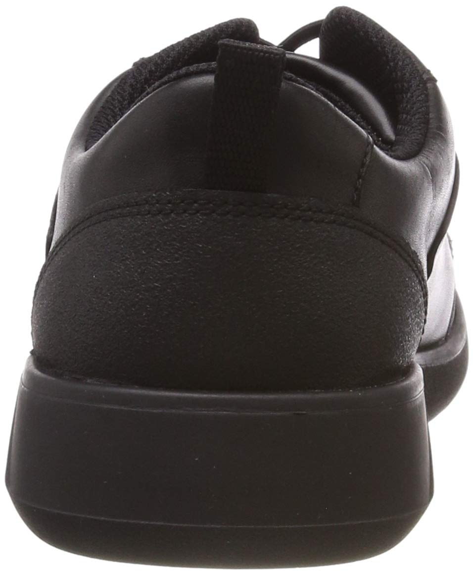 CLARKS Boys' Scape Street Y Brogues, (Black Leather-), 3 UK by CLARKS (Image #2)