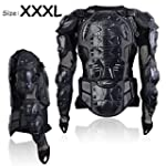 Motorcycle Motocross Clothing Racing Men s Armor Spine Chest Protective Jacket XXX Large TKT 11