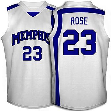 quality design e2bfa 883b4 Amazon.com: Memphis Tigers Derrick Rose #23 College ...