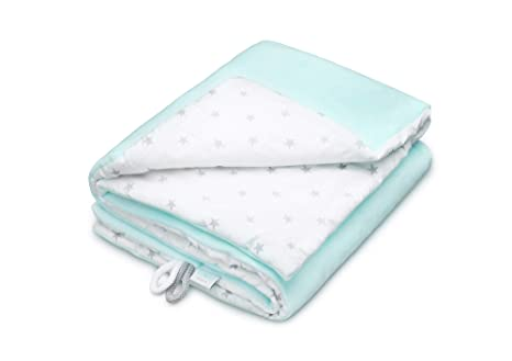 af6f0efd69596 EliMeli Couverture douillette pour bébé en polaire ultra douce 75 x 100 cm  – 100%
