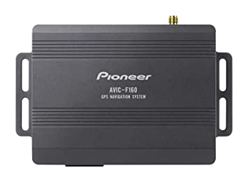 Pioneer AVIC-F160 Fijo Negro navegador - Navegador GPS (Tarjeta de memoria, Flash