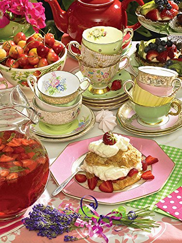 Cobble Hill Strawberry Tea Jigsaw Puzzle, 500-Piece