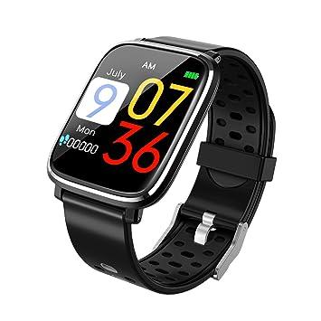 d3e5c0f65f Amazon | スマートウォッチ 1.3インチHD大画面 血圧測定 心拍計 活動量計 ...