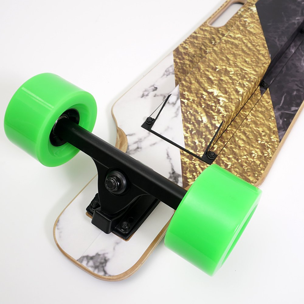 MightySkins Skin for Blitzart Huracane 38'' Electric Skateboard - Steam Punk Room | Protective, Durable, and Unique Vinyl Decal wrap Cover | Easy to Apply, Remove, and Change Styles | Made in The USA by MightySkins (Image #4)
