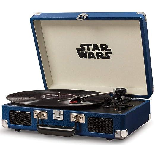 Crosley Cruiser Deluxe - Tocadiscos de Star Wars Classic: Amazon ...