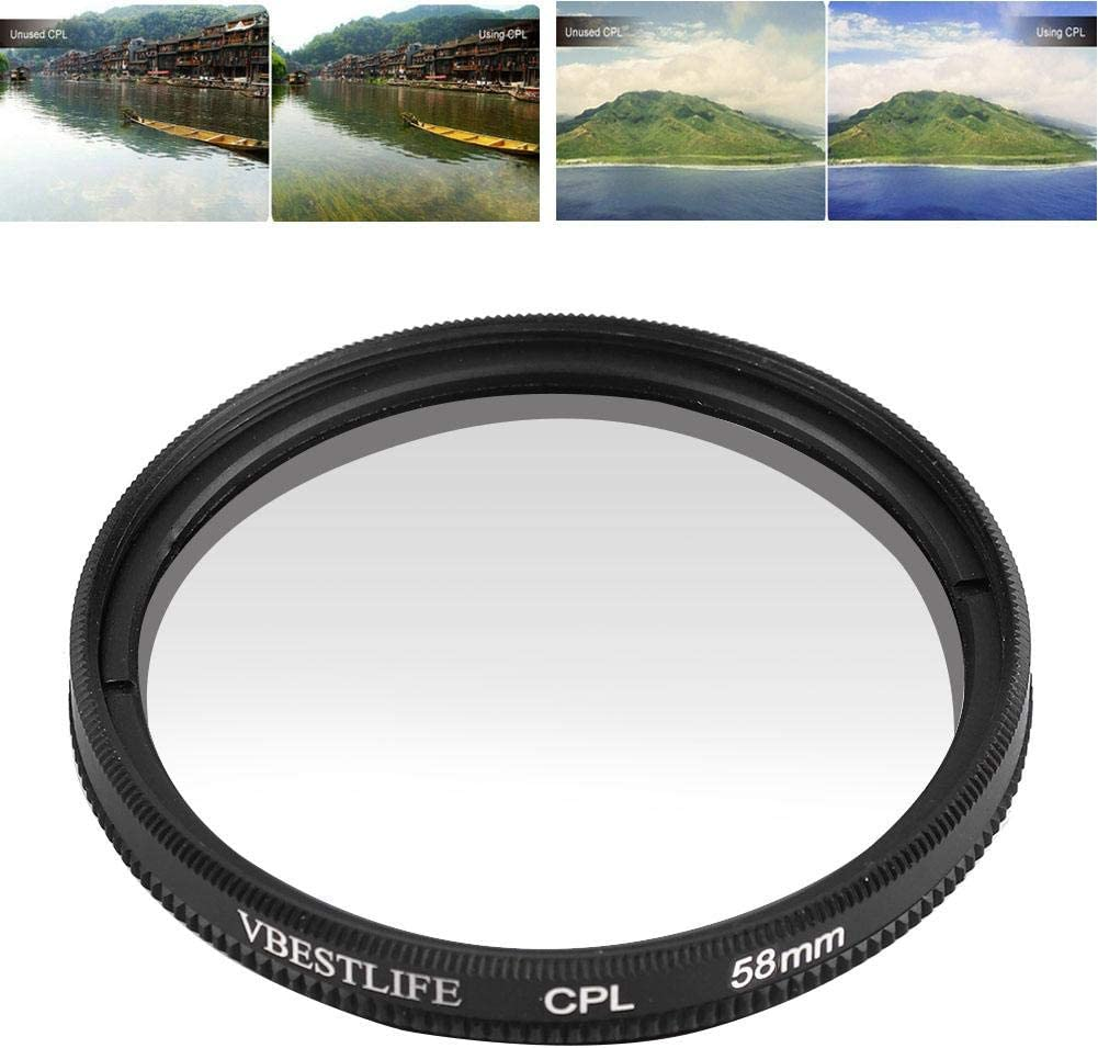 Mugast Universal Ultra Slim Optical Glass CPL Polarizing Filter Lens Accessory for Sony for Nikon for Canon DSLR Camera 77mm