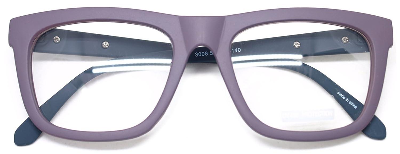 7b4d01360140f Nerd Geek Retro Square Oversized Horn Rim Classic Eye Glasses Clear Lens  Spectacles