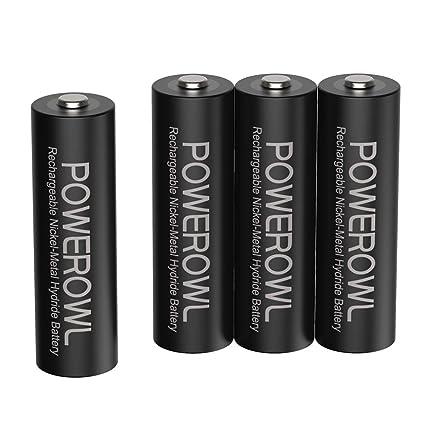 Amazon.com: POWEROWL - Cargador inteligente con pilas ...