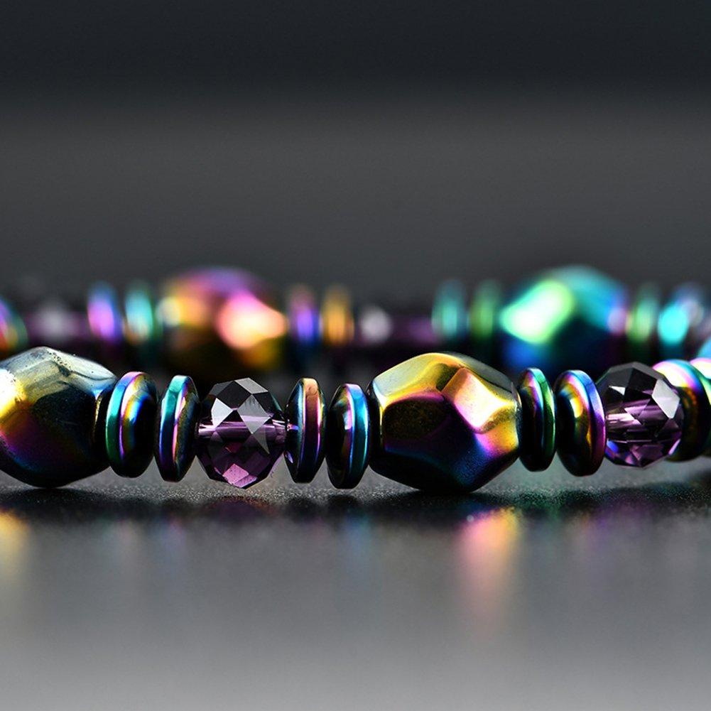 Demarkt Armkette Armbänder Armkettchen Armreif Armschmuck aus Kunststoff Durchmesser von 55mm Perlenweben & Schmuckherstellung Basteln, Malen & Nähen