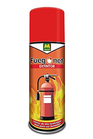 Extintor en spray Fuegonet de 500g (650ml) - Ideal para casa ...