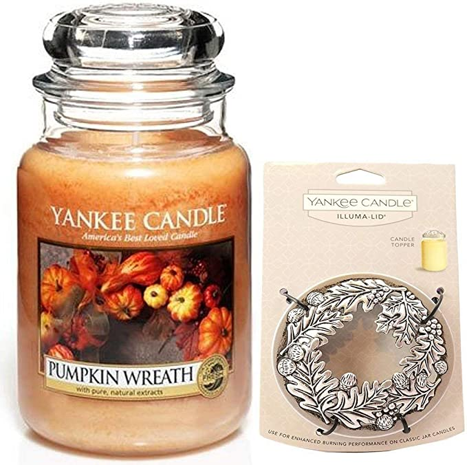 Acorn /& Leaves Christmas Yankee Candle Illuma-lid *BRAND NEW GENUINE*