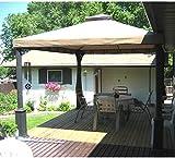 10 x 12 Two Tiered Gazebo Replacement Canopy & Replacement canopy for #YH-1103 10u0027x12u0027 Gazebo: Amazon.ca: Patio ...