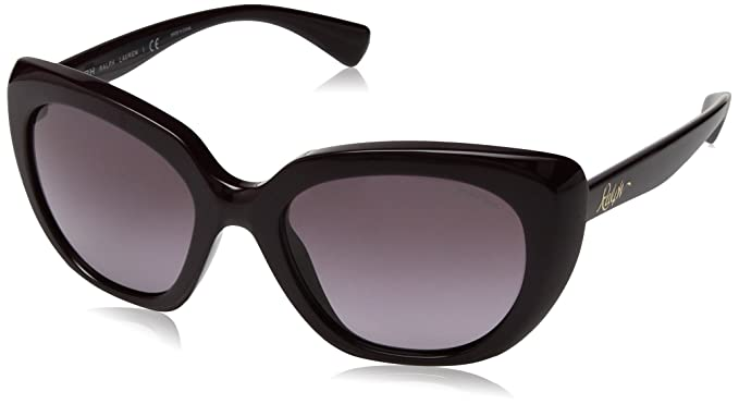 RALPH 0RA5228, Gafas de sol para Mujer, Dark Purple 54 ...