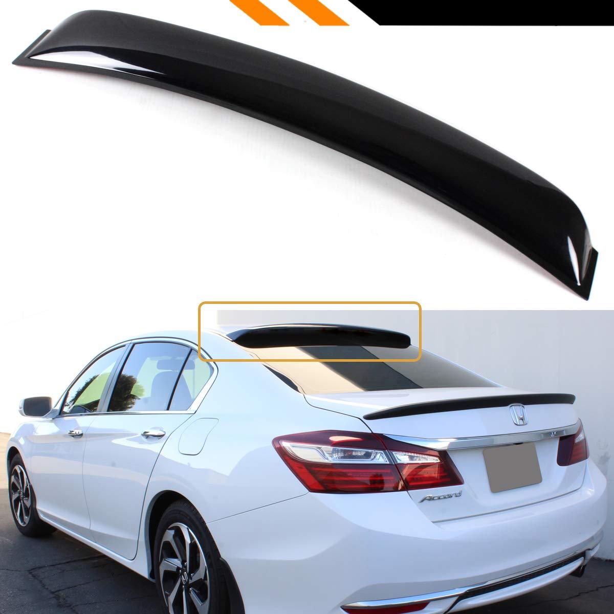9Th Gen Accord >> Cuztom Tuning Fits For 2013 2017 9th Gen Honda Accord 4 Door Sedan Jdm Rear Window Roof Visor Spoiler Deflector