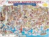 White Mountain Puzzles 1000 Piece Usa, Boston Harbour Area Ma Wh007 By by White Mountain