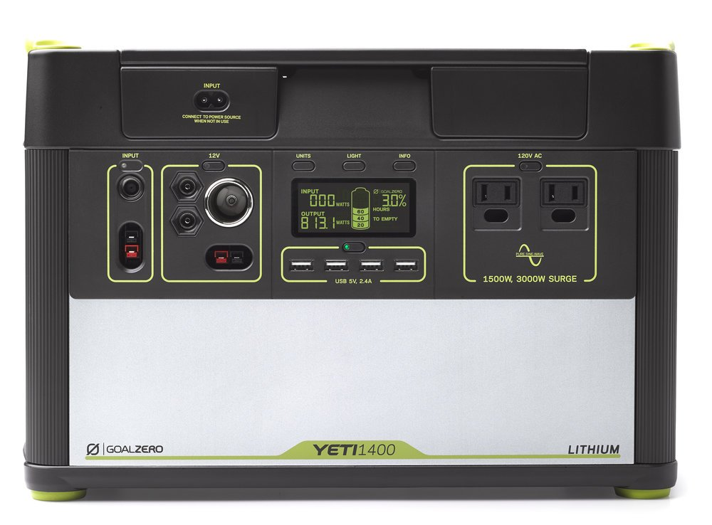 Goal Zero Yeti 1400 Lithium Portable Power Station 1425Wh