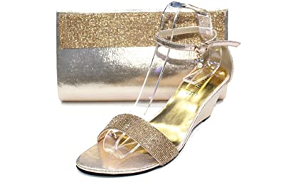Damen Sandalen 36-42, Silber - silber - Größe: 36.5 Wear & Walk UK