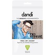 Dandi® Patch Desodorante Alternativo Anti-Sudor Almohadillas Pack ...