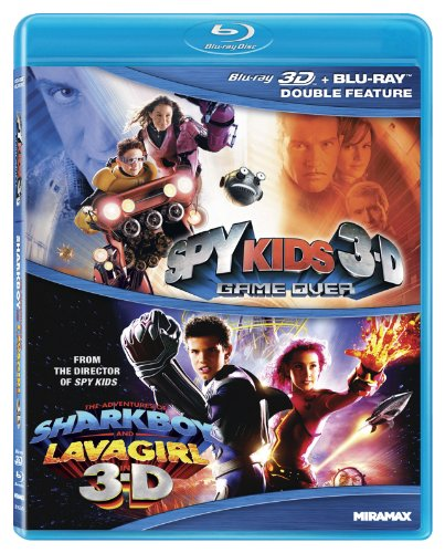 Spy Kids 3D: Game Over /The Adventures Of Sharkboy and Lavagirl - Double Feature [Blu-ray]