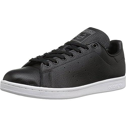 Adidas Originals Stan Smith lea Sock hombres Cuero Negro 45 EUR