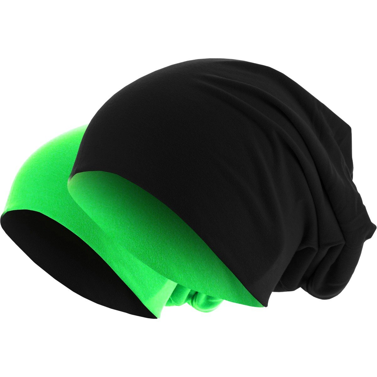 Hatstar Slouch Long Beanie 2in1 Reversible Jersey Mütze in 44 Farben product image