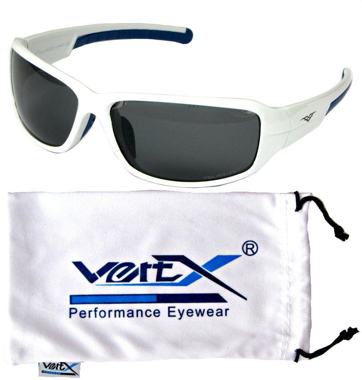 VertXmasculinepolarisésdes lunettes desoleilSportcyclismeen cours d'exécution.–BlancetnoirFrame.Lentillebleuvert. bvrpn8