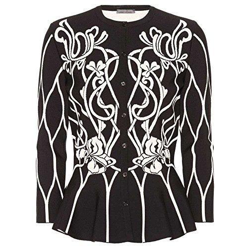 (アレキサンダー マックイーン) Alexander McQueen レディース トップス カーディガン Floral knit cardigan [並行輸入品]