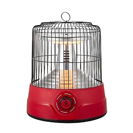 XPZ00 Jaula De Pájaro Calentador Pequeño Calentador Solar Home Desktop Calentador Eléctrico De Ahorro De Energía