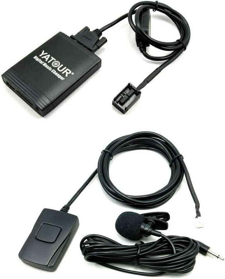 Yatour YTM06-RD4-BT Adaptador de Musica Digital para Coche USB SD AUX Bluetooth Manos Libres para Peugeot Citroen RD4-BT