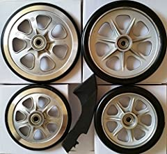 Each quantity is for purchasing on a set of complete parts, which includes 4 Wheels (2 large and 2 small) and brake arm and pad for LandRoller Terra 9 skates. The strength on these parts is between the regular that came with the LandRoller sk...