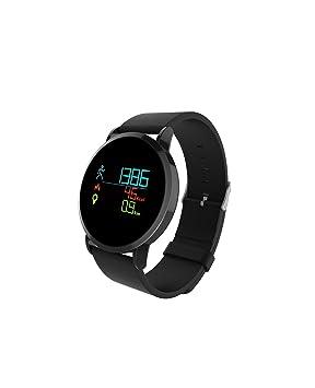 SLGJYY Smart Reloj de Pulsera Pantalla a Color Corazón Frecuencia Tensiómetro de Sangre Oxígeno Bluetooth Deportes
