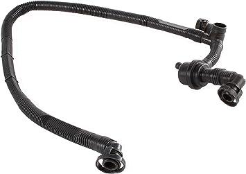 Car Crankcase Breather Vent Vacuum Hose For VW Passat Audi A4 A6 V6 078103224R
