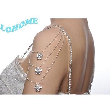 LOHOME (TM) moda novia banquete Convertible con correa para el hombro correa para el