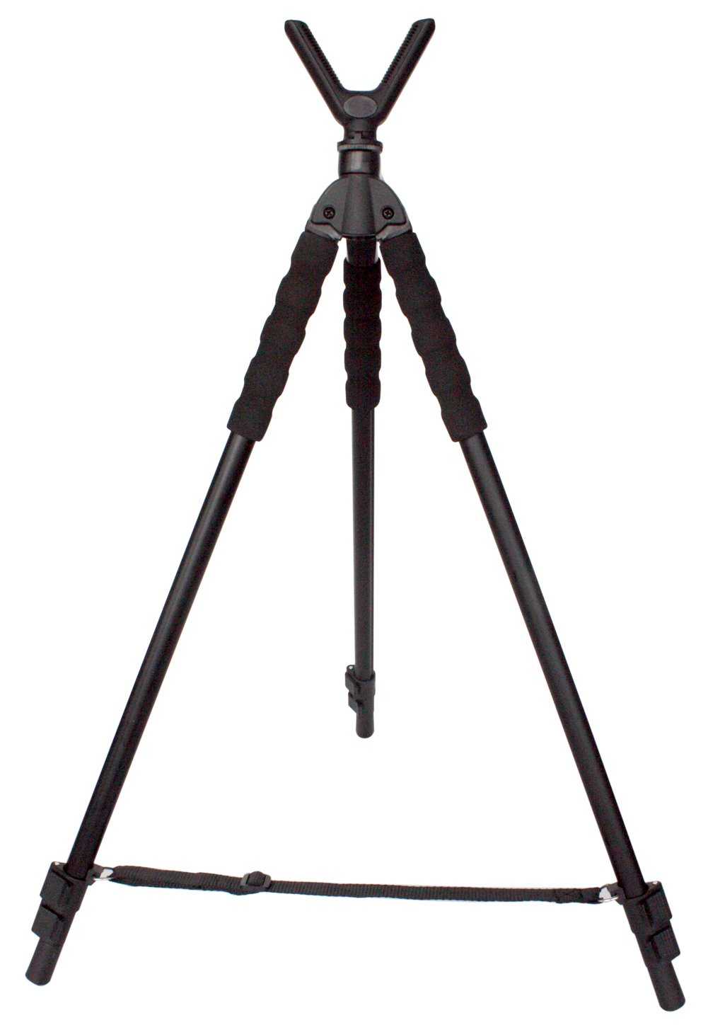Leader Accessories Lightweight Aluminum Alloy Shooting Stick Tripod Height Adjustable, 19.5'' - 63'' by Leader Accessories