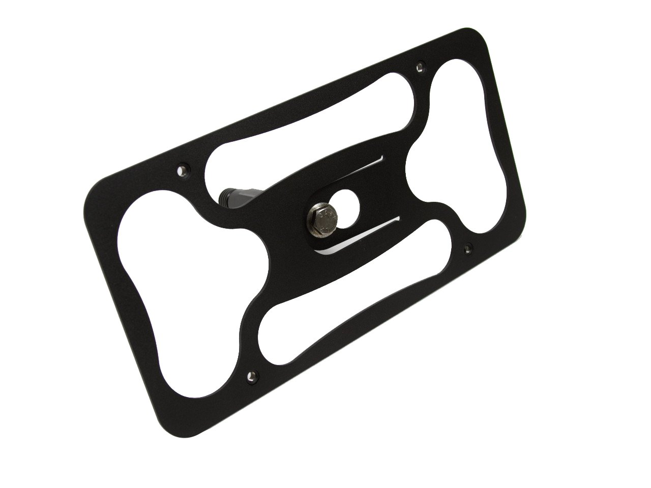 Image of CravenSpeed Platypus License Plate Mount for Alfa Romeo Stelvio 2018-2020 | No Drilling | Installs in Seconds | Made in The USA Fasteners