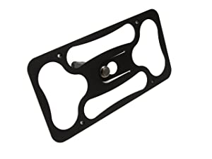 CravenSpeed Platypus License Plate Mount for Alfa Romeo Stelvio 2018-2020 | No Drilling | Installs in Seconds | Made in The USA