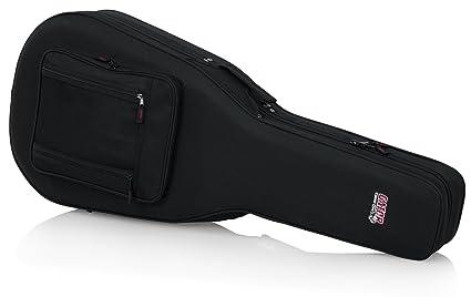42567ef2b1 Amazon.com: Gator Cases Lightweight Polyfoam Guitar Case For ...