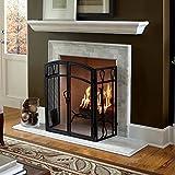 Colton 60' White Fireplace Mantel Shelf