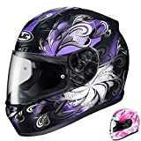 HJC CL-17 Cosmos - Womens' Full-Face Street Motorcycle Helmet - Purple - Small