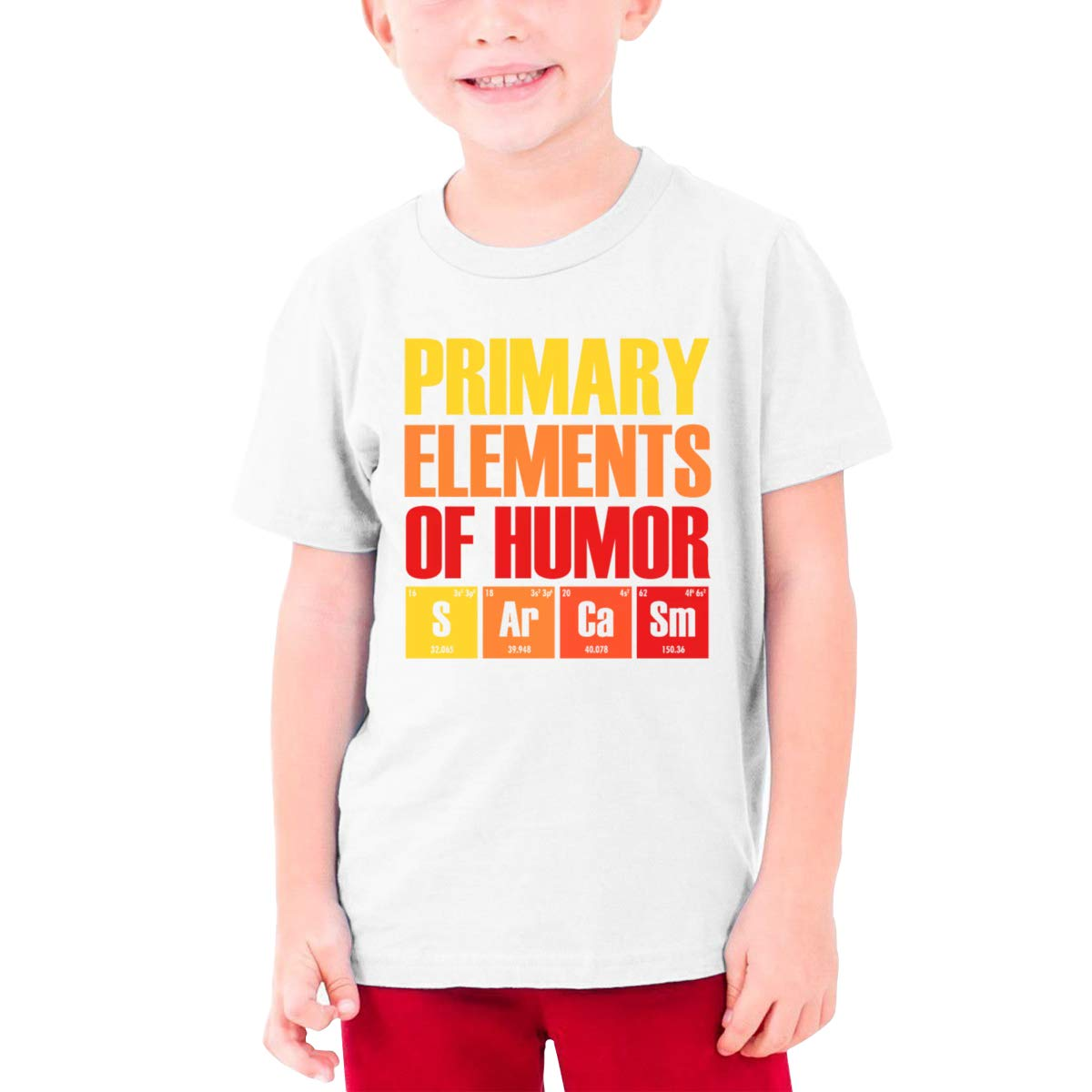 Primary Elements of Humor Boys Short-Sleeved T-Shirt